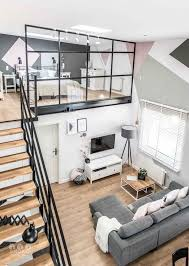 Modern Living Room For Apartment Best 25 Modern Loft Ideas On Pinterest Loft House Modern Loft