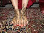 Eid Mehndi Designs on Feet For 2010 – 11: You Love All The Time ... yusrablog.com