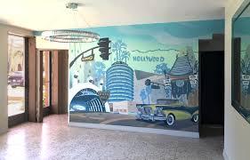 hattas public murals commercial los angeles cahttps julie beverly hills apartment lobby la landmarks