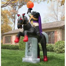 Inflatable Halloween Train by C U0026 P Treasures Decorate Your Yard With Inflated Spirits This