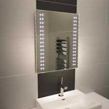 Bathroom Mirror With Lights Built In by Heated Bathroom Mirrors Built In Demister Designed In The Uk