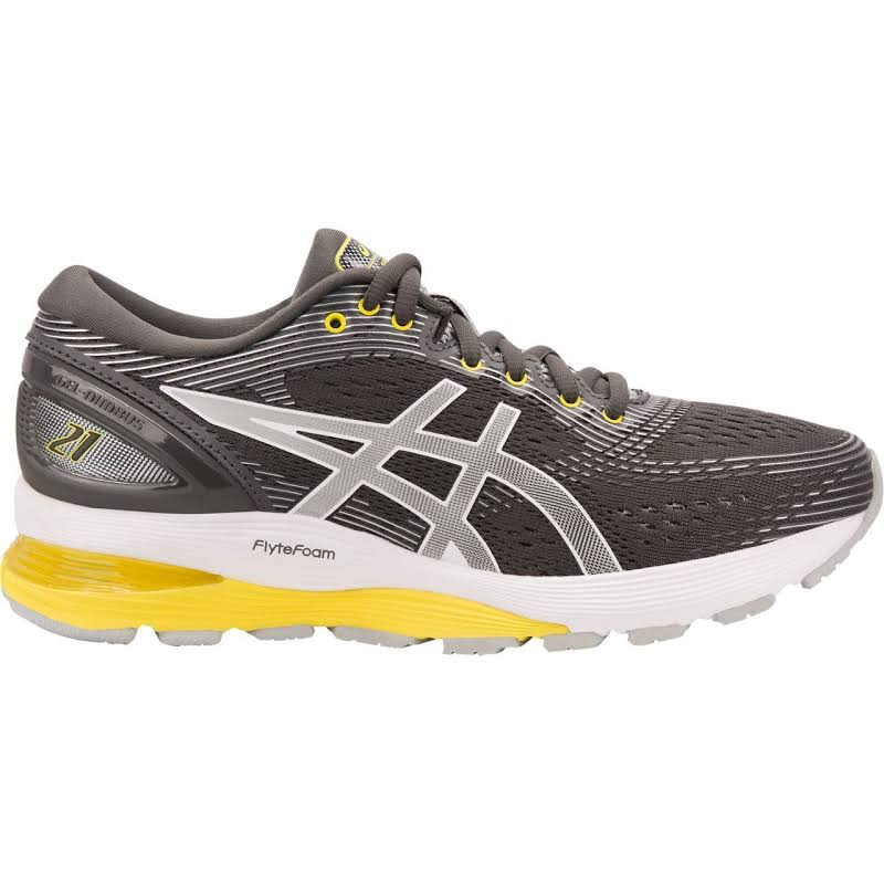 ASICS Gel-Nimbus 21 Running Shoes Grey- Womens