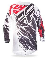 black motocross jersey 2017 5 kinetic mesh relapse black white red jersey fly racing