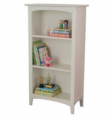4 Shelf Bookcase White by Avalon Three Shelf Bookcase White