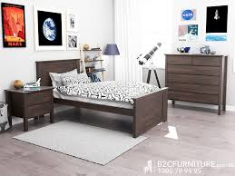 Single Bedroom Furniture Bedroom Suites Single Hardwood B2c Furniture