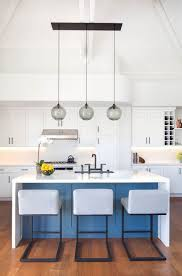 kitchen island lighting spotted inside corona del mar residence