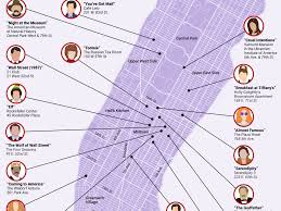 Map New York City by Map Of Iconic Movie Locations In New York City Business Insider