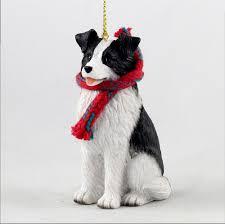 scarf dog christmas ornaments