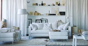 White Furniture For Living Room Ikea Living Rooms Customizing Inexpensive Linen Curtains Diy