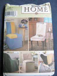 Simplicity Home Decor Simplicity 8261 Sewing Pattern Chair Covers 5 Styles Home Decor