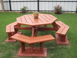 Plans For Wood Picnic Table by Fabulous Wooden Octagon Picnic Table Google Image Result For