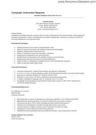Resume Writing For Teaching Job by Material Handler Resume Examples Resume For Your Job Application