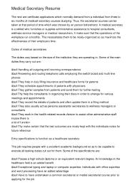 Secretary Resume Sample by What Sinvolvedinamedicalreceptionistprofession 20121008 223317 121008163333 Phpapp02 Thumbnail 4 Jpg Cb U003d1349714025