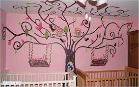 Bathroom Craft Ideas Decor Tree Wall Painting Bunk Beds For Adults Rooms For Kids