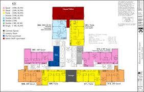 House Floor Plan Floor Plans College Houses U0026 Academic Services