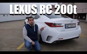lexus rc 200t 0 60 lexus rc 200t eng test drive and review youtube