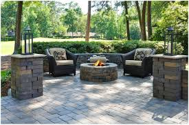 backyards superb smart paver patio ideas with black arm chairs