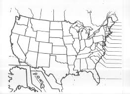 Time Zone Map United States by Blank United States Map Quiz Unit 3 Mr Reid Geography For Life