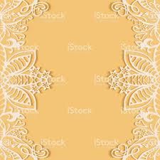 Invitation Card Designer Abstract Background Frame Border Lace Pattern Wedding Invitation