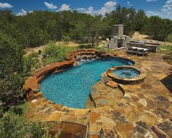 Unique Backyard Ideas by Cool Backyard Designs With Pool And Outdoor Kitchen Design Ideas