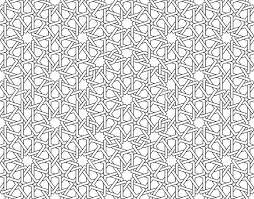 this moroccan pattern is used in architectural design for the