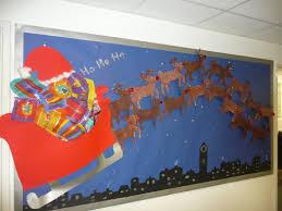 christmas decorations for classrooms santa sledge classroom
