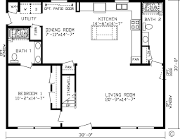 1 Bedroom Modular Homes Floor Plans by Home Ashford 99702k Kingsley Modular Floor Plan Fairmont Homes