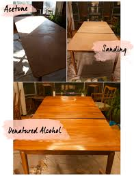 Teak Dining Room Table And Chairs by Refinishing Vintage Furniture