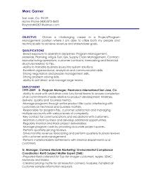 Sample Test Manager Resume by Full Size Of Resumeexamples Of Objective For Resume Healthcare