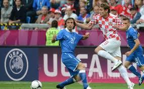 Pertandingan Grup C Italia vs Kroasia