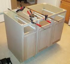 Kitchen Island Electrical Outlet Installing Kitchen Island Legs