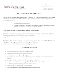 What To Put As An Objective On A Resume An Objective For A Resume Resume For Your Job Application
