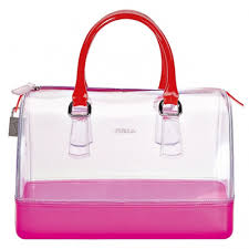 contrast and candy color handbag