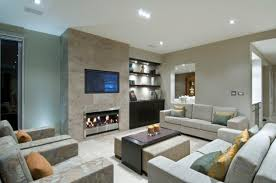 Stunning Contemporary Family Room Designs For The Best Relaxation - Contemporary family room design