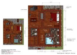 home garden plans lh100 log house plans log house design