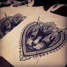 Cool cat tattoo design by Becca at Tiny Miss Becca Tattoo. UK ...