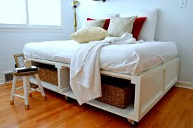 15 diy platform beds that are easy to build u2013 home and gardening ideas