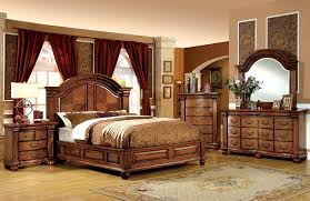 Amazoncom Furniture Of America Lannister Piece Elegant Bedroom - 7 piece king bedroom furniture sets