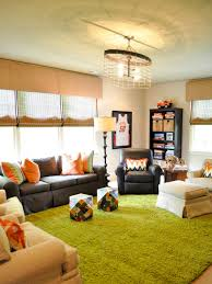 Home Decoration Games Brown Sitting Room Couch Conglua Living With Yellow Walls For