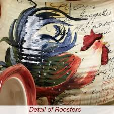 28 rooster kitchen canisters country roosters kitchen metal home kitchen kitchen canisters le rooster kitchen canister set