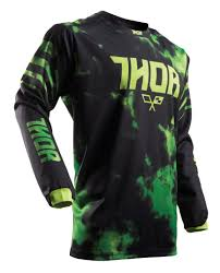 green motocross boots thor youth pulse tydy jersey revzilla
