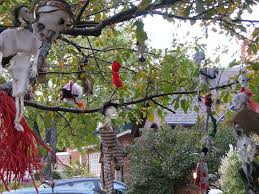 cool living outdoor halloween decorating ideas infotainment