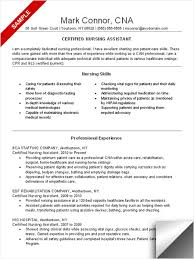 Career Goals Examples For Resume by Cna Resume Sample Resume Examples Pinterest Nursing Resume