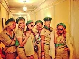 Girls Unique Halloween Costumes Gang Troop Beverly Hills 22 Creative Halloween Costume