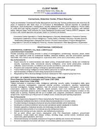 Deputy Sheriff Job Description Resume by Officer Resume Example