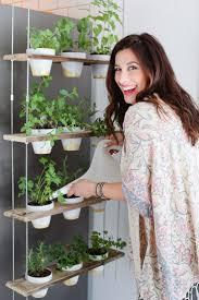 diy indoor hanging herb garden learn how to make an easy