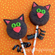 Fun Halloween Cakes Black Cat Snack Cakes Hungry Happenings