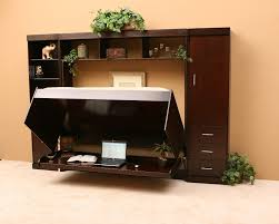 Wall Unit Storage Bedroom Furniture Sets Hidden Desk Bed Need A Bed And A Work Surface Too U2013 But Don U0027t