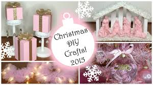Christmas Tree Ideas 2015 Diy Christmas Diy Crafts 2015 Part 2 Pink Christmas Decorations