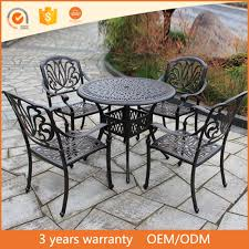 Cast Iron Patio Set Table Chairs Garden Furniture - used cast iron patio furniture used cast iron patio furniture
